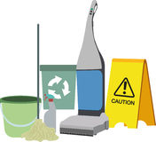 Cleaning Icons Set Stock Image