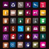 Clean icon. This icons use for utilities design and etc Royalty Free Stock Image