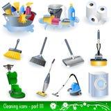 cleaning ikony royalty ilustracja