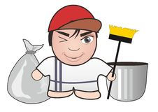 Cleaning  image Royalty Free Stock Photo
