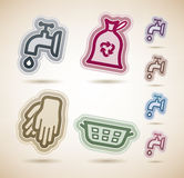 Cleaning Items Royalty Free Stock Images