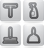 Cleaning Items Stock Photography