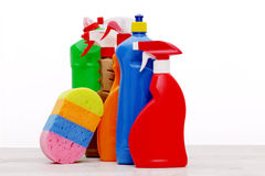 Cleaning items Stock Image