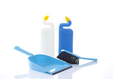 Cleaning items isolated Royalty Free Stock Photo