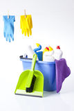Cleaning items Royalty Free Stock Image
