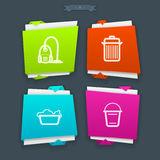 Cleaning Items Royalty Free Stock Photo