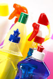 Cleaning items set Stock Image
