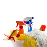 Cleaning kit Royalty Free Stock Photos