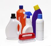 Cleaning kit. Royalty Free Stock Photo
