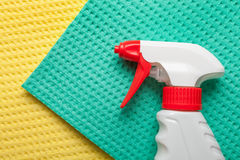 Cleaning kit for house Royalty Free Stock Photo