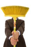 cleaning mężczyzna Zdjęcie Royalty Free