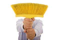 cleaning mężczyzna Obrazy Stock