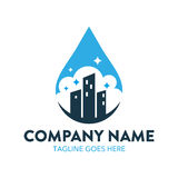 Cleaning And Maintenance Logo Stock Photography