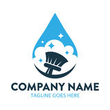 Cleaning And Maintenance Logo Royalty Free Stock Images