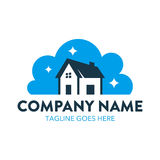 Cleaning And Maintenance Logo. With simple shape and colors, perfect for your business Stock Photo