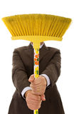 Cleaning men Royalty Free Stock Photo
