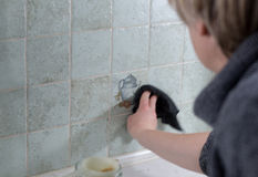 Cleaning. Royalty Free Stock Photo