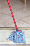 Cleaning mop Stock Images