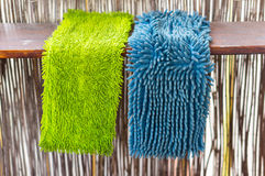 Cleaning mops Royalty Free Stock Image