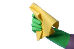 Cleaning napkin Royalty Free Stock Photos