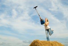 cleaning niebo zdjęcie royalty free