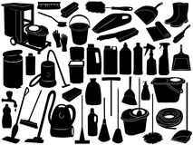 Cleaning Objects Royalty Free Stock Photography