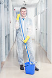 Cleaning office Royalty Free Stock Photography