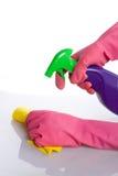 cleaning okno Obraz Stock