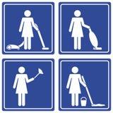 cleaning piktograf Zdjęcia Stock