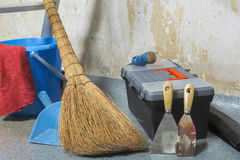 Cleaning, preparation for major overhaul Royalty Free Stock Photos