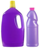 Cleaning product. Cleaning bottle with clipping path Royalty Free Stock Photography
