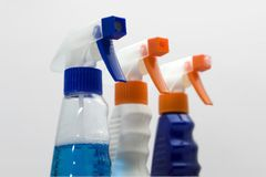 Cleaning product Stock Photography