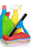 Cleaning product and equipment Stock Photos