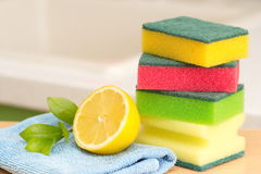 Cleaning. Product for hygiene of your house Stock Image