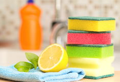 Cleaning Royalty Free Stock Photography