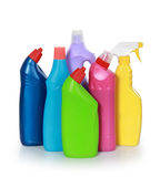 Cleaning product plastic container Stock Image