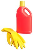 Cleaning Products. Stock Image