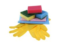 Cleaning products Stock Images