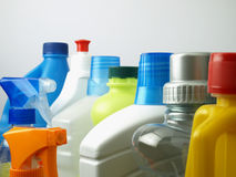 Cleaning Chemicals   Stock Image