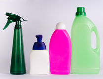 Cleaning products Royalty Free Stock Image