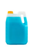 Cleaning products. Detergent plastic bottle isolated Stock Photos