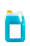Cleaning products. Detergent plastic bottle isolated Royalty Free Stock Image