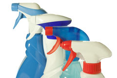 Cleaning products Royalty Free Stock Photography