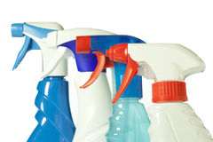 Cleaning products Stock Photos