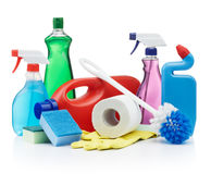 cleaning produkty Fotografia Stock