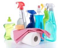 Cleaning produkty Zdjęcie Royalty Free