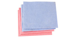 Cleaning rags Stock Photo