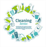 Cleaning Service Stock Image