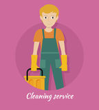 Cleaning Service Banner Stock Photography