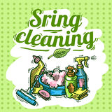 Cleaning service Royalty Free Stock Photos